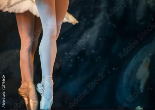 Cuadros en Lienzo  expressive ballet photo