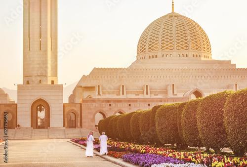 Fotografie, Obraz  Sultan Qaboos Moschee - Muscat, Oman.