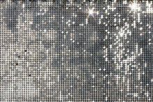 Silver Background Mosaic With ...