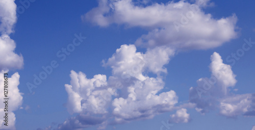 Canvas Prints Heaven blue sky with cloud