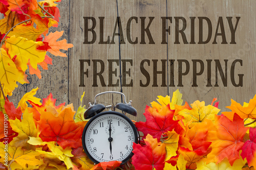 Foto op Canvas Jacht Time for Black Friday Free Shipping