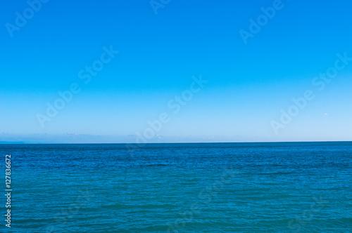 Foto op Aluminium Zee / Oceaan Calm sea and blue sky