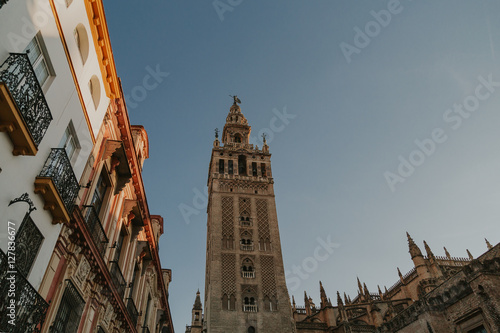 Foto  torre en sevilla