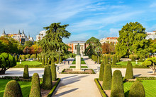 Parterre Garden In Buen Retiro...
