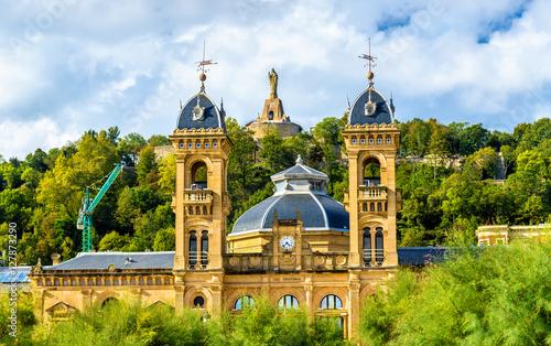 Fotografie, Obraz  City Hall of San Sebastian - Donostia, Spain