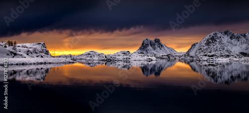 Photo  Steinefjorden panorama