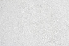 White Plaster Wall Background ...