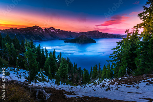 Fotografia Crater Lake National Park Oregon