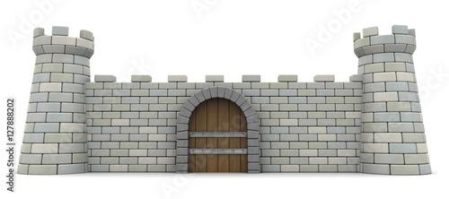 Valokuva fortress wall