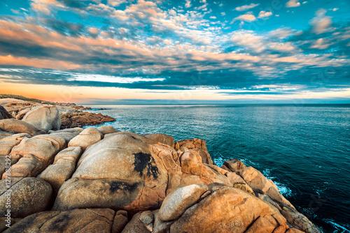 Fotografie, Obraz  Dramatic sunset over the Fleurieu Peninsula