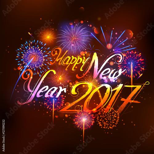 Happy new year 2017 celebration abstract starburst seasons greetings happy new year 2017 celebration abstract starburst seasons greetings background with firework m4hsunfo
