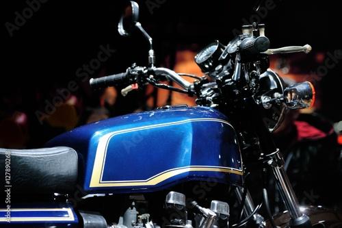 Fotobehang Fiets 憧れのビンテージバイク