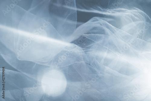Cuadros en Lienzo white  tulle fantasy background
