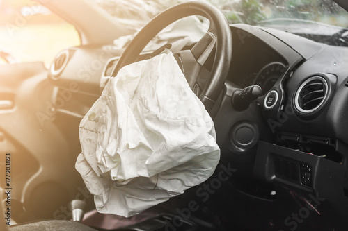 Airbag work Canvas Print