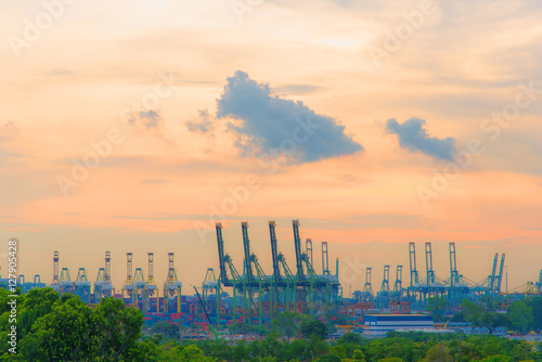 Photo  Seaside industry