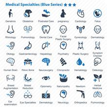 Medical Specialties (Blue Series)