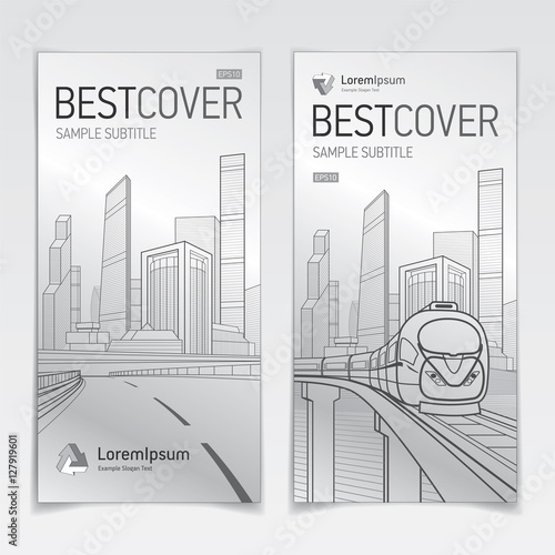 Covers booklet business architecture and transport modern design covers booklet business architecture and transport modern design silver version logo company wajeb Choice Image