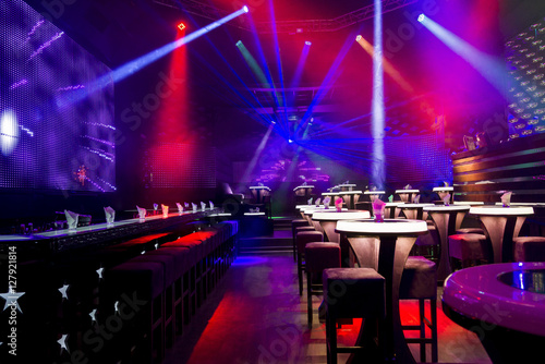 Photo  Dance club interior. Payner Premium. Bulgaria, Veliko Tarnovo