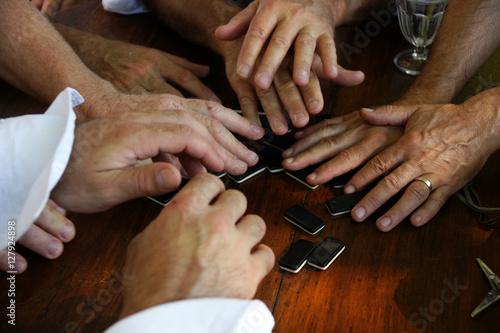 Photo  Jeux de dominos