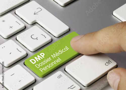 DMP Dossier Médical Personnel Canvas Print