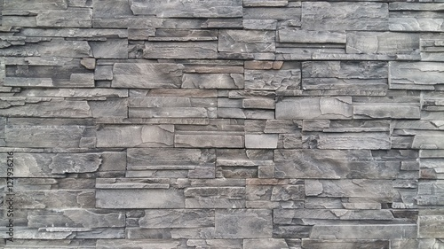 Fotografie, Obraz  Stone wall texture background pattern
