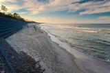Fototapeta Fototapety z morzem do Twojej sypialni - plaża morska w środku jesieni