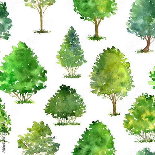 wzor-z-akwarela-rysowania-drzew