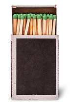 Open Box Of Matches Vertically