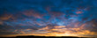 canvas print picture - sunset sky