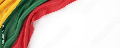 Photo  Lithuania flag