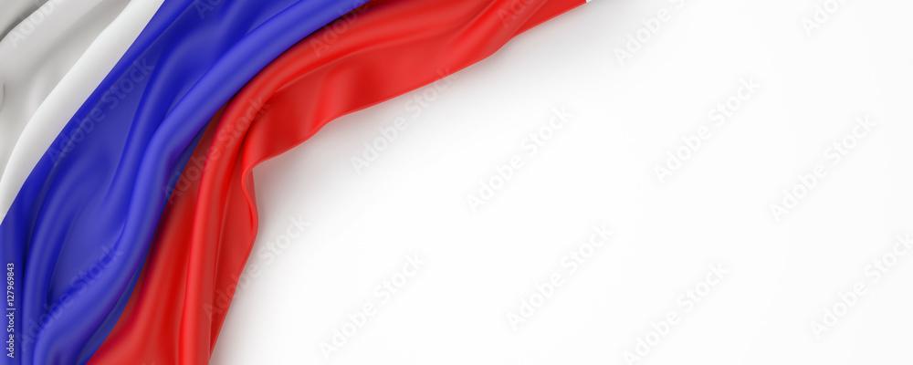 Fototapety, obrazy: Rusia Flag
