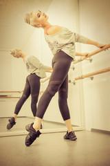 elegant female dancer