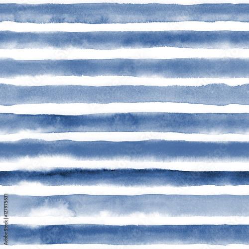 1532b04e90c1f2 Stoffe zum Nähen Aquarell Musterdesign mit blauen Streifen. Wiederholen Sie  die geraden Streifen Textur Hintergrund. Muster drucken