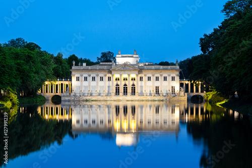 Fototapeta Pałac Na Wyspie łazienki