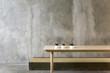 Leinwanddruck Bild - Cafe Design Interior Objective Shop Concept