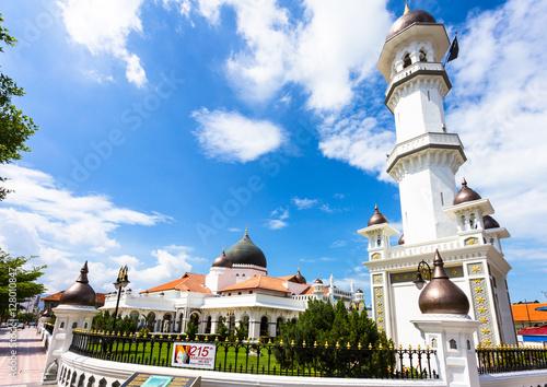 Foto op Aluminium Santorini Kapitan mosque in Penang