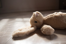 Cute Rabbit Doll Toy, Old Tone