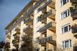 Wohngebäude, Mietshaus, mit Balkon in München