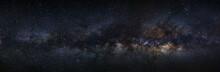 Panorama Milky Way Galaxy On A...