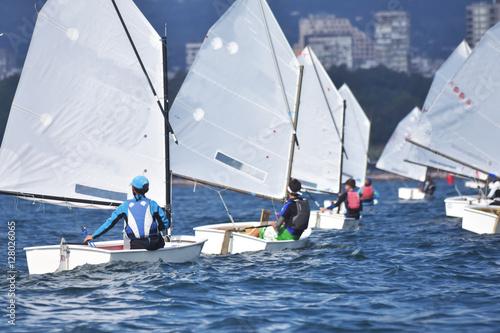 Cadres-photo bureau Voile Sport Sailors training