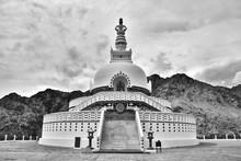 Shanti Stupa Architecture Photography