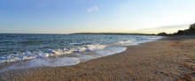 Panorama Of Sea Coast
