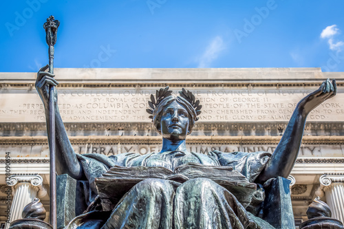 Photo columbia university alma mater