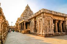 Ancient Hindu Temple, Tamil Nadu, India