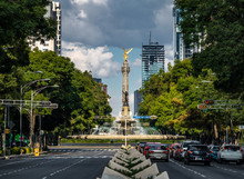 Paseo De La Reforma Avenue And...