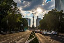 Paseo De La Reforma Avenue And...