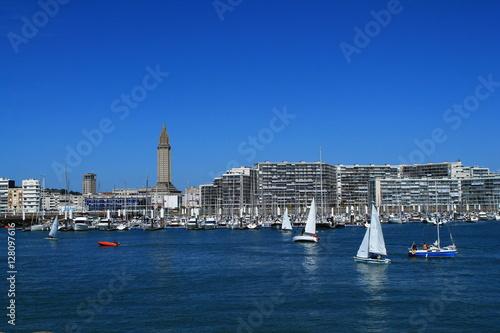 Port de plaisance du Havre, France