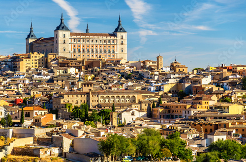 The Alcazar of Toledo, UNESCO heritage site in Spain
