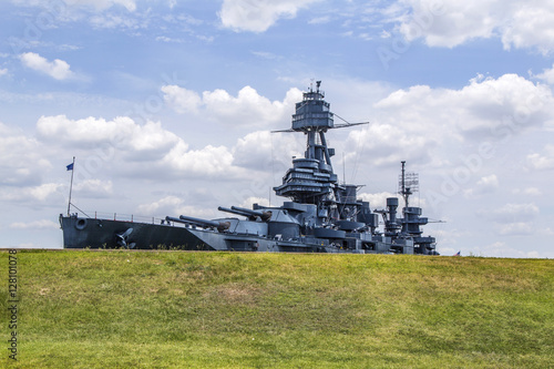 The Famous Dreadnought Battleship Texas Canvas Print