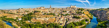 Panorama Of Toledo, A UNESCO World Heritage Site In Spain
